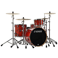 "Sonor ProLite 22"" Fiery Red 3 Pcs. Shell Set « Schlagzeug"