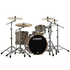 "Sonor ProLite 22"" Snow Tiger 3 Pcs. Shell Set « Schlagzeug"