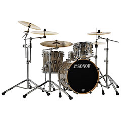 "Sonor ProLite 20"" Snow Tiger 3 Pcs. Shell Set With Mount « Batería"