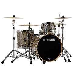 "Sonor ProLite 22"" Snow Tiger 3 Pcs. Shell Set With Mount « Batterie acoustique"