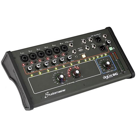 Digitaal Mengpaneel Studiomaster DigiLiVe8c