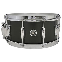 "Gretsch Drums USA Brooklyn 14"" x 6,5"" Satin Black Metallic « Caisse claire"