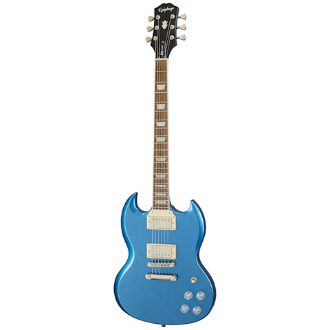Epiphone Modern SG Muse Radio Blue Metallic « Guitare électrique