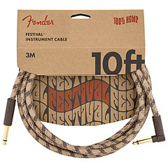 Fender Festival Hemp Brown Stripe 3 m « Instrumentenkabel