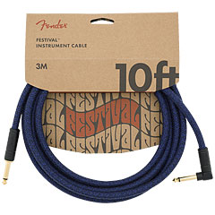 Fender Festival Hemp Blue Dream 3 m « Instrumentenkabel