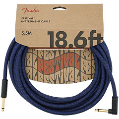 Fender Festival Hemp Blue Dream 5,6 m « Instrumentenkabel