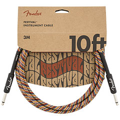 Fender Festival Hemp Rainbow 3 m « Instrument Cable