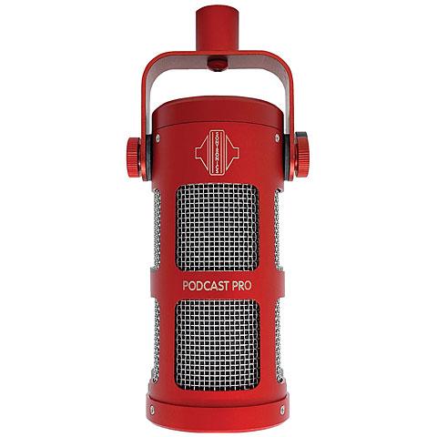 Mikrofon Sontronics Podcast Pro red