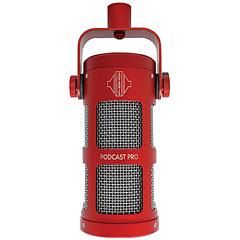 Sontronics Podcast Pro red « Microphone