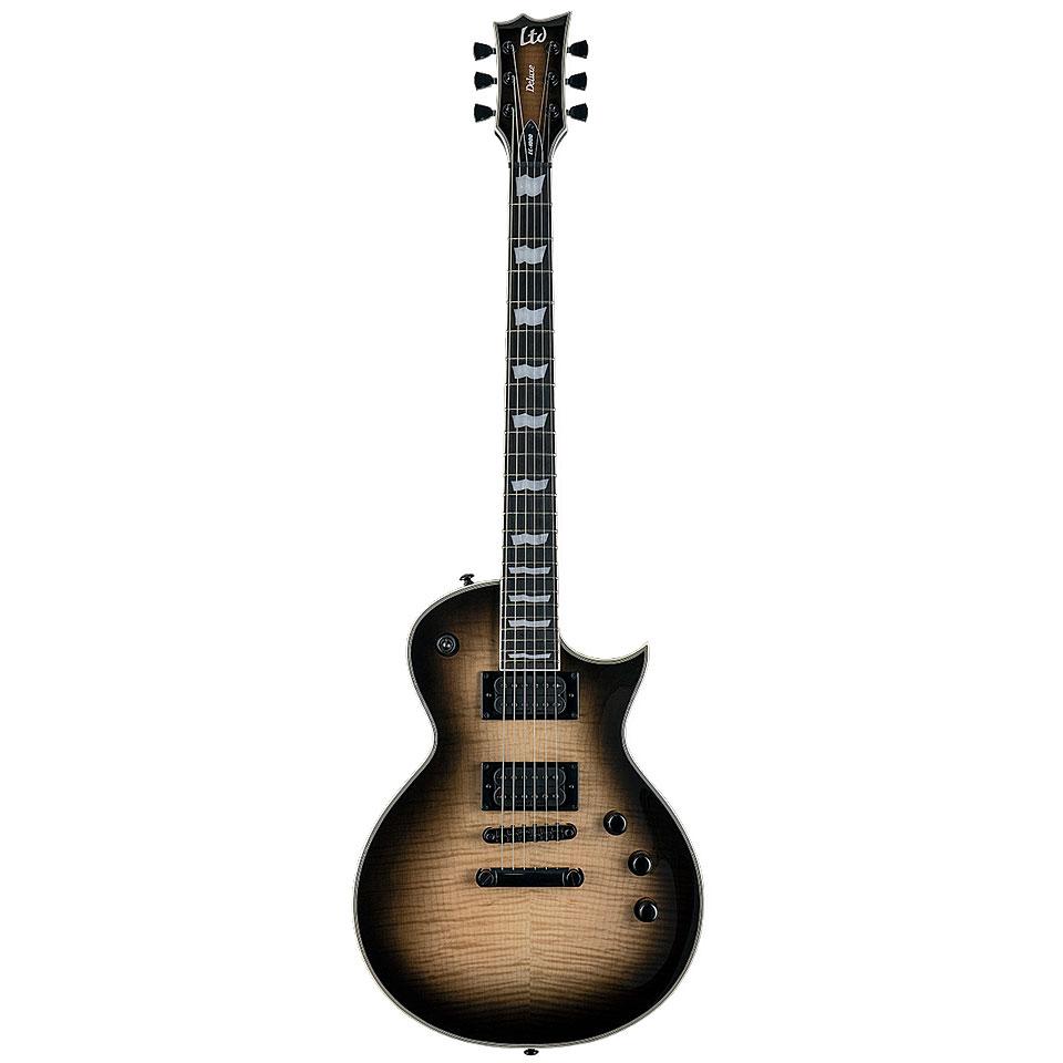 Egitarren - ESP Ltd EC 1000T FM BLKNB E Gitarre - Onlineshop Musik Produktiv