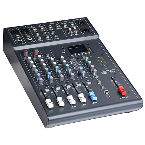 Console analogique Studiomaster Club XS6+