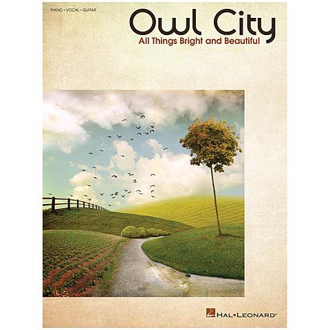 Songbook Hal Leonard Owl City - All Things Bright & Beautiful