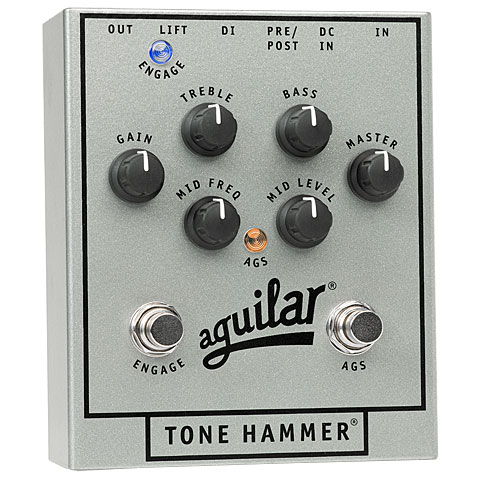 Effectpedaal Bas Aguilar Tone Hammer Anniversary Edition