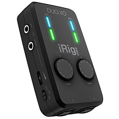 IK-Multimedia iRig Pro Duo I/O « Carte son, Interface audio
