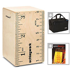 Schlagwerk CP112 X-One Rock'n'Rule Bundle « Cajon