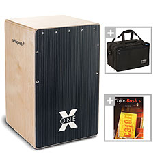 Schlagwerk CP160 X-One Hard Coal Stripes Bundle « Cajon