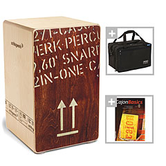Schlagwerk CP404RED 2inOne Red Edition Bundle « Cajon