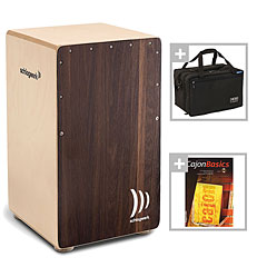 Schlagwerk CP408 2inOne Dark Oak Bundle « Cajón flamenco