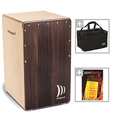 Schlagwerk CP408ST 2inOne Dark Oak SoftTouch Bundle « Cajón flamenco