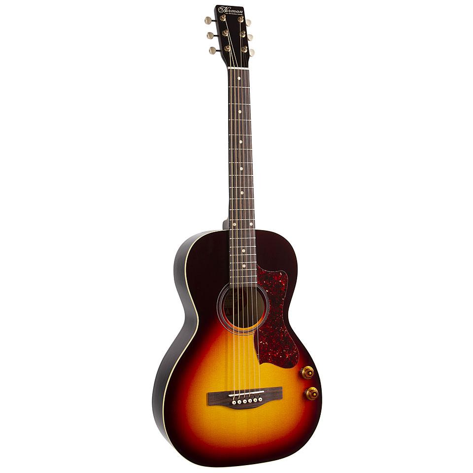 Westerngitarren - Norman B18 Parlor Westerngitarre - Onlineshop Musik Produktiv