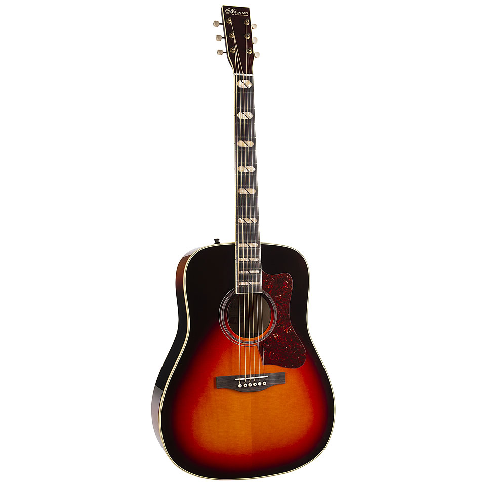 Westerngitarren - Norman ST50 CherryBurst HG Westerngitarre - Onlineshop Musik Produktiv