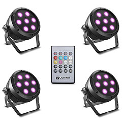 Cameo ROOT PAR 4 Set 1 « LED-Leuchte