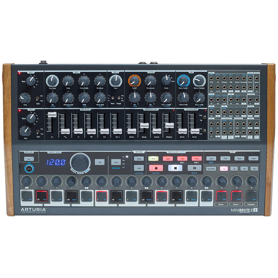 Synthesizer - Arturia Minibrute 2S Synthesizer - Onlineshop Musik Produktiv