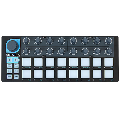 Controlador MIDI Arturia BeatStep Black Edition