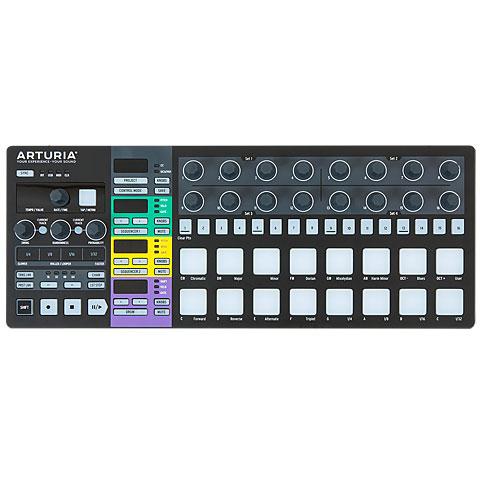Controlador MIDI Arturia BeatStep Pro Black Edition