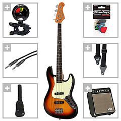 Kozmos Kozmos 60s J-Style JJ RW 3TS / Kong Deep Twenty « E-Bass Set