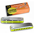 Harmonica Richter C.A. Seydel Söhne Blues Session Steel Summer Edition 2020 Bb