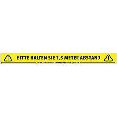 Adam Hall Accessories 58067 GER Abstand halten « Adhesive Tape