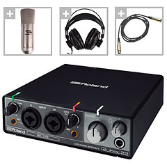 Roland Rubix22 Home-Recording Bundle « Audio Interface