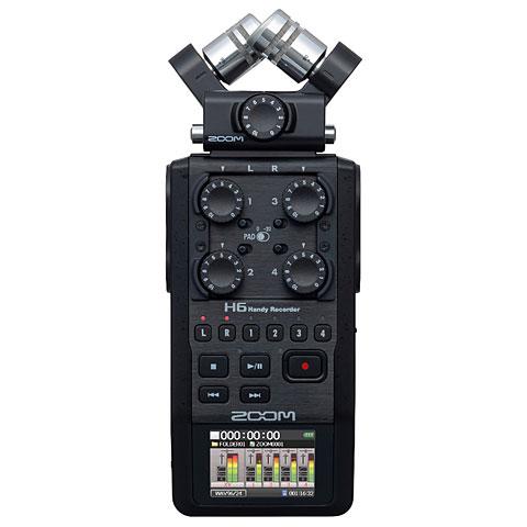 Grabador digital Zoom H6 black