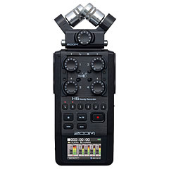 Zoom H6 black « Digital Audio Recorder