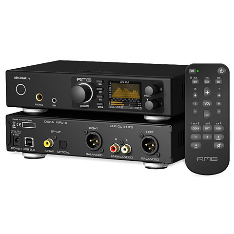 Interface de audio RME ADI-2 DAC FS