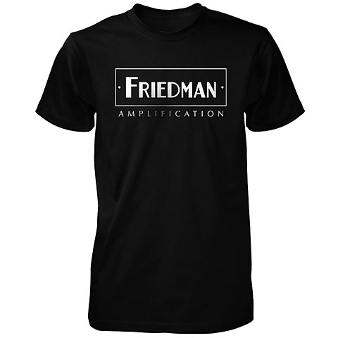 Camiseta manga corta Friedman Logo BLK XL