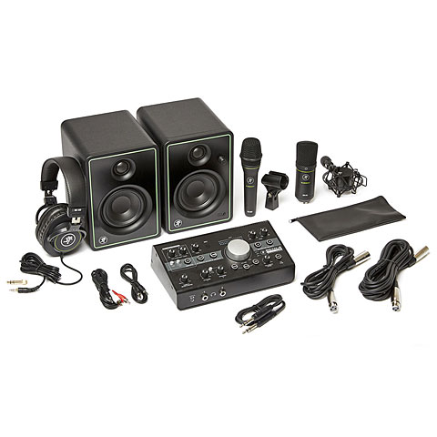 Sets de micrófonos Mackie Studio Bundle