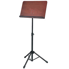Stand Art Orchestra Music Stand Walnut « Sheet Music-Stand