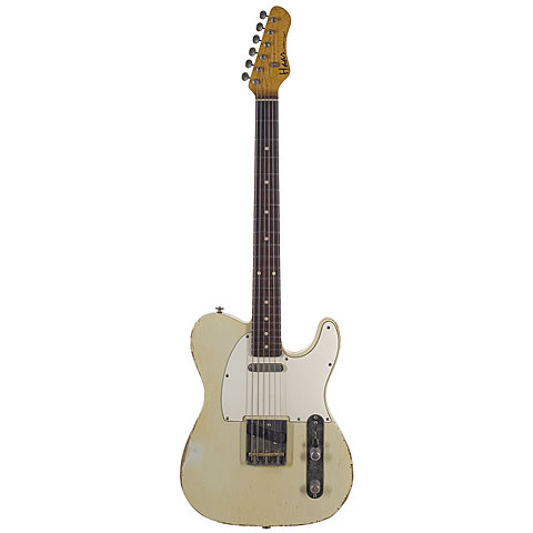 Haar Traditional T aged, Olympic White « Electric Guitar