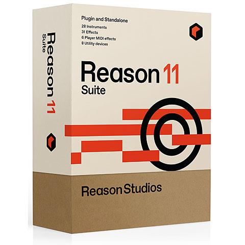 Séquenceur généraliste Reason Studios Reason 11 Suite