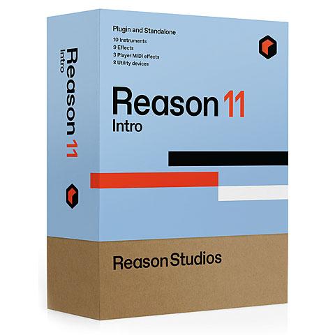 DAW-Software Reason Studios Reason 11 Intro