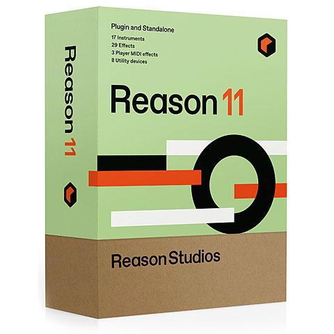 Séquenceur généraliste Reason Studios Reason 11 Upgrade