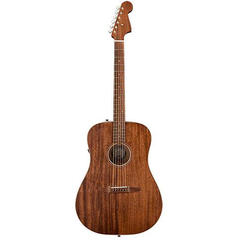 Guitarra acústica Fender Redondo Special MAH