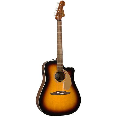 Westerngitarre Fender Redondo Player SB