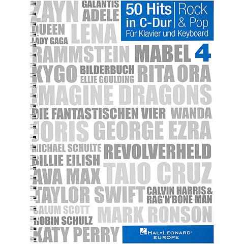 Cancionero Bosworth 50 Hits in C-Dur Bd. 4