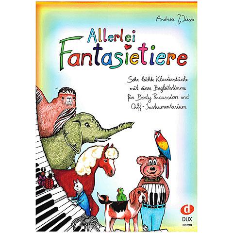 Libro de partituras Dux Allerlei Fantasietiere
