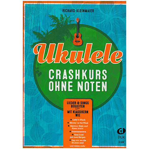 Bladmuziek Dux Ukulele-Crashkurs ohne Noten