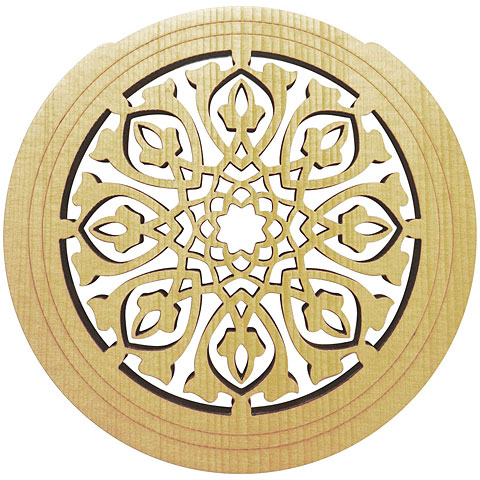 Soundhole cover Sticky Tunes Soundhole Tribal Leaves
