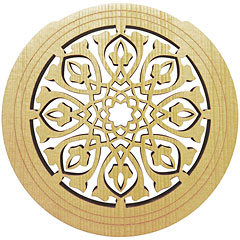 Sticky Tunes Soundhole Tribal Leaves « Soundhole cover